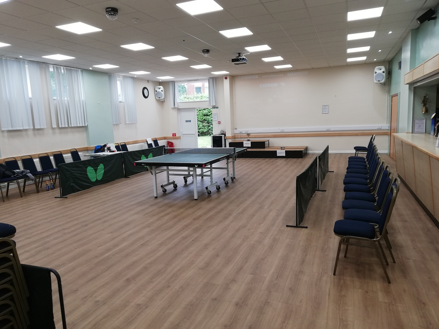 Herne Hall - Table Tennis Match